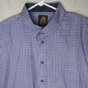 English Laundry Long Sleeve Button Front Shirt